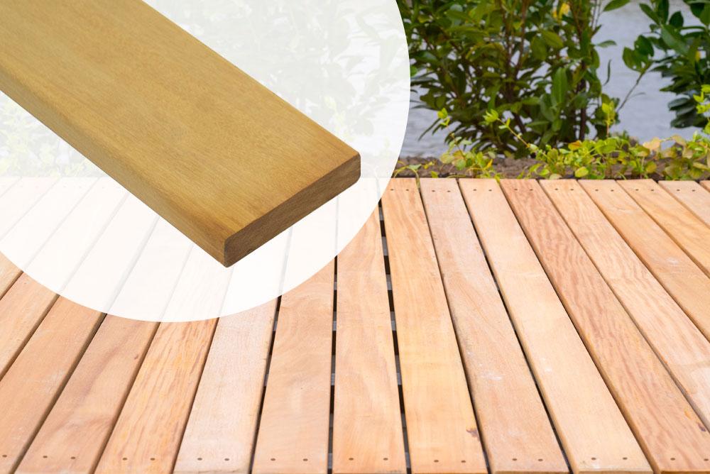 Zeer Houten Dakterras Maken op plat dak balkon vlonder bouwen NB18