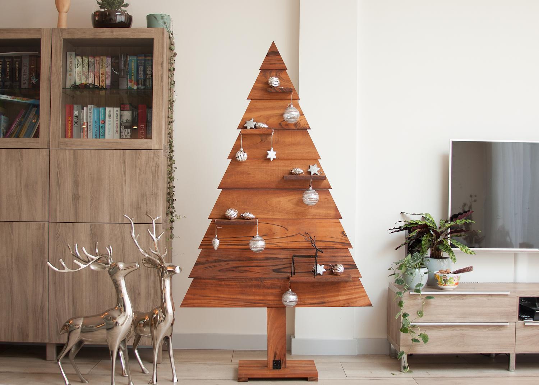 Bekend Houten Kerstboom kopen - Steigerhout boom en 3d UI34