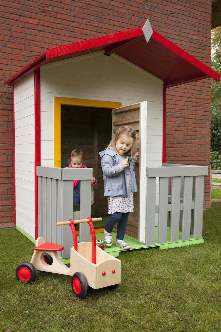 Bekend Houten Speelhuis Kinderhuisje Kopen Speelhuis voor buiten DE69