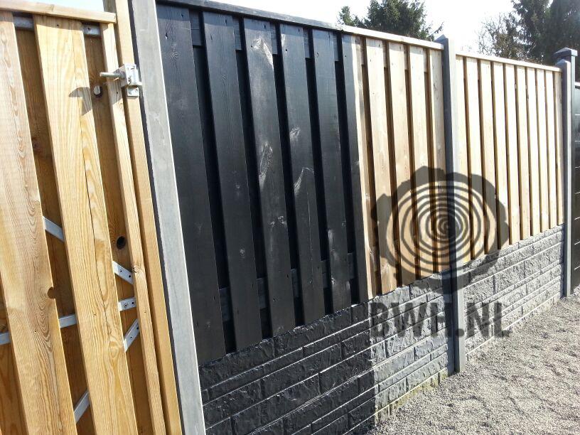 Populair Beits Zwart voor lariks douglas hout & beton 2.5 liter SL41